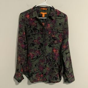 Gorgeous Joe fresh silk blouse